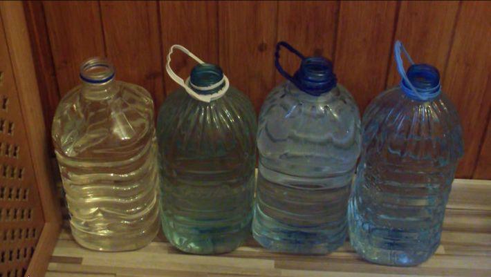 отстаивать воду